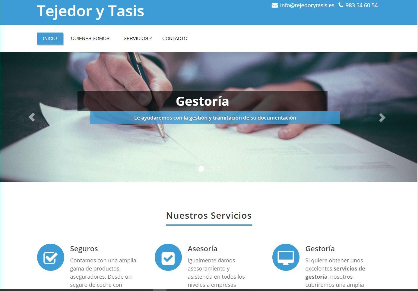 Tejedor y Tasis