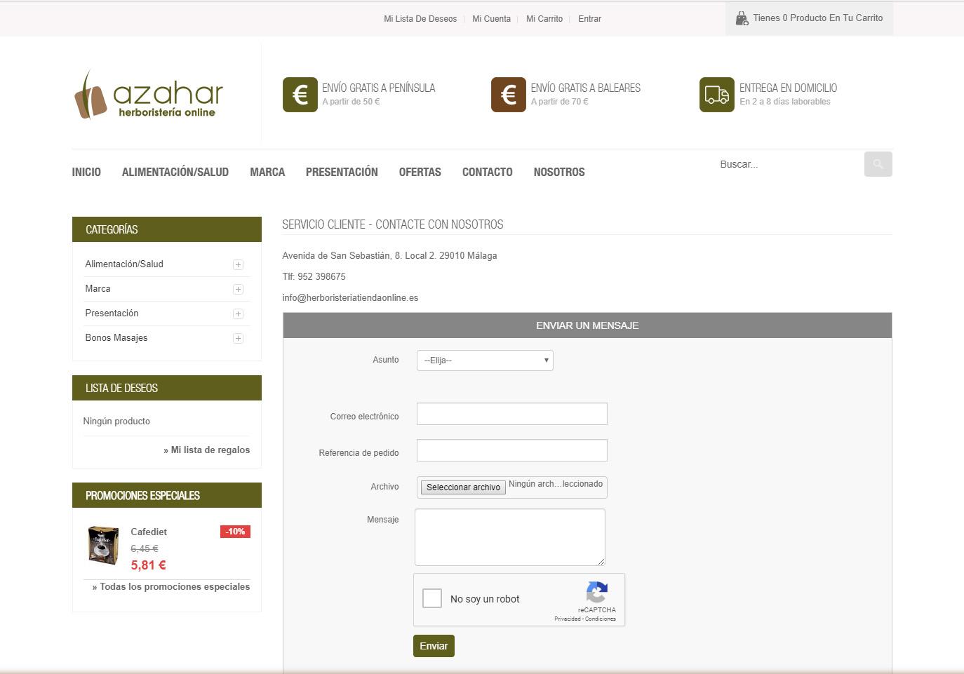 Herboristeria Tienda Online
